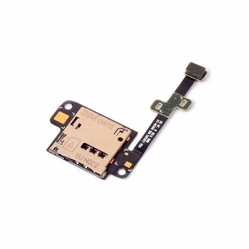 Flex Slot Leitor De Chip  Tab Samsung Note  Galaxy Note 8.0 Gt N5100 Original