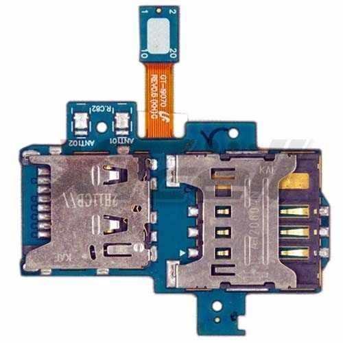 Flex Conector Chip e Micro Sd S2 Lite I9070