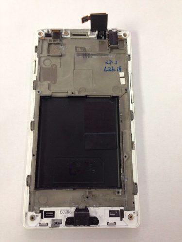 Vidro Touch Screen P760 Lg L9 Optimus com Aro e Botão Home