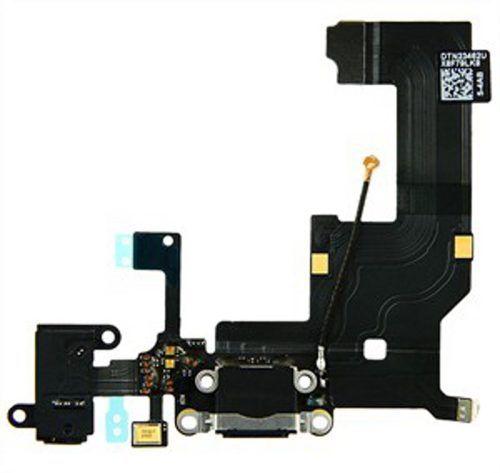 Cabo Flex Conector Carga Dock Iphone 5 Audio Microfone Jack