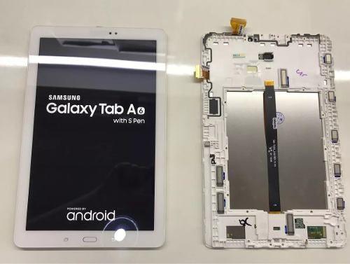 Display Lcd Touch Tab A 2016 Samsung Sm P585 T585 Retirado Original Usado Testado