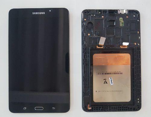 Display Lcd Touch Screen Samsung Tab Sm T280 T285 Original Retirado 7 Polegadas ( Usado )