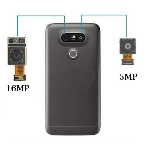 Kit com as 2 Câmeras Traseiras LG G5 G5se ( Esquerda 16Mp + Direita 8MP )  100% Originais