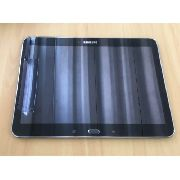 Frontal Lcd Display + Touch Screen  Aro Samsung Tab 4 Sm T530 531 Branca Original
