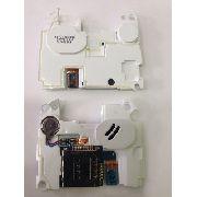 Conector Chip Campainha Samsung B3210 Original Com Vibra Branco