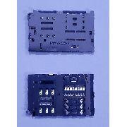 Slot Conector Chip Sd Lg G6 H870 / K220 X Power / K10 Power M320dsf Solda Original