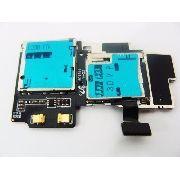 Conector Sim Card Celular Samsung S4 4g i9505 i9515 Original