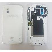 Tampa Bateria Traseira Lg E960 Nexus 4 / Branca Original