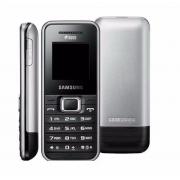 Carcaça Celular Samsung E1182 Duos Preta 100% Original Com Visor