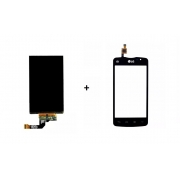 Display Lcd Lg Celular + Vidro Touch Screen L50 Sporty D225 D227