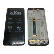 Display Lcd Touch LG K50s Lm X540 Bmw Original com Aro Chassi
