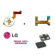 Flex Da Campainha Speaker + Campainha Speaker + Flex do Power Celular LG K10 Original