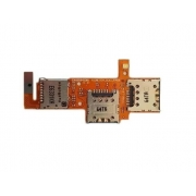 Flex Leitor Chip Lg K4 K130 Sim Card Memória / Flash
