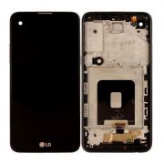 Frontal Lcd Touch Screen Celular Lg K500 X Screen Com Aro