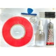 Kit Removedor + Cola B7000 + Dupla Face + Chaves + Fio Aço