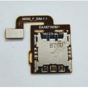 Leitor Chip Sim 2 Card Slot LG K10 2017 M250