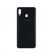 Tampa Traseira Samsung Galaxy A20 A205 Preto