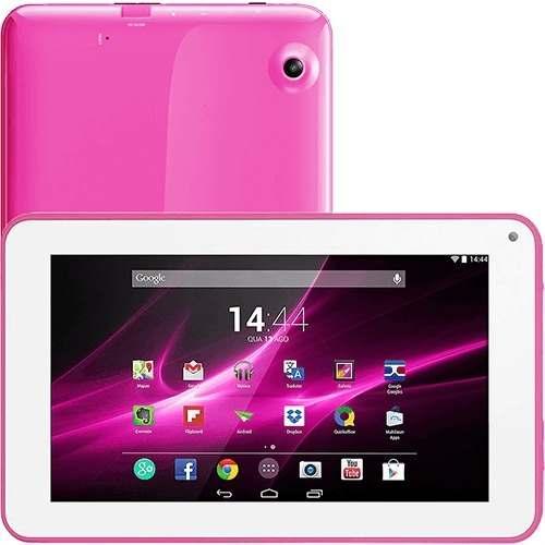 Tablet Multilaser M9 Tela 9 Pol. Android 4.4 Kit Kat Câmera Processador Quad Core 8gb Memória 1gb Ram - Nb172 Semi Novo