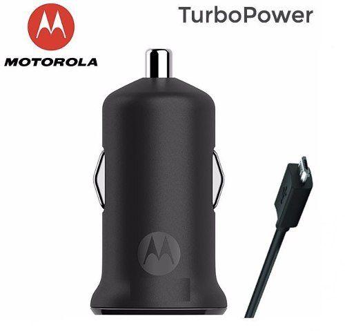 Carregador Veicular Motorola® Micro Usb V8 Original Micro Usb + Entrada Usb Compatível a vários modelos e marcas.