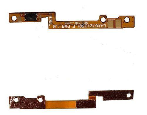 Flex do Botão Power + Alto Falante Auricular Celular LG K10 Power  M320 TV