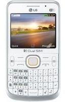 Carcaça Gabinete Celular Lg C397 Qwerty Dual com tampa e teclado