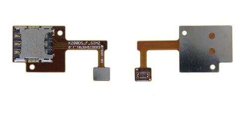 Conector Slot Chip 1  Lg + Slot Flex Chip 2 Lg K200 X Style Original