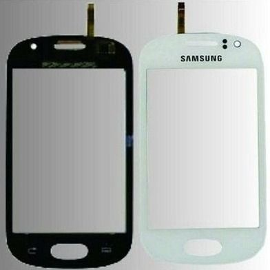 Vidro Touch Screen Samsung Gt i6810 i6812 Galaxy Fame + Aro Gabinete Lateral
