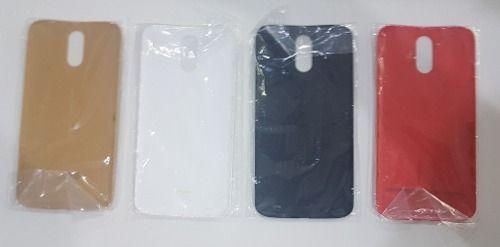 Kit 4 Tampas Motorola Moto G4 Xt 1626 Xt1622 / Moto G4 Plus Xt 1640 ( Branca , Preta, vermelha e Madeirado) Originais