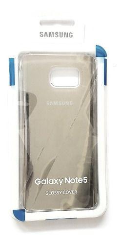 Capa Glossy Cover Samsung Note 5 Sm N920 Original Dourada
