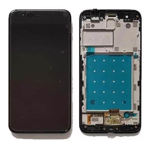 Frontal Lcd Display Touch Screen Lg K11 K11+ Lm X410 Com Aro