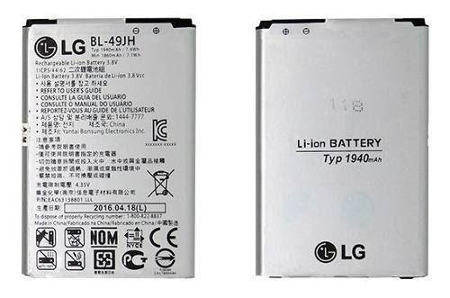 20 Baterias Lg Bl 49jh / K4 K120 K130 Originais 1940mah