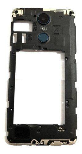 Gabinete Traseiro Tecla Power e Lente câmera Lg K9 X210bmw Original