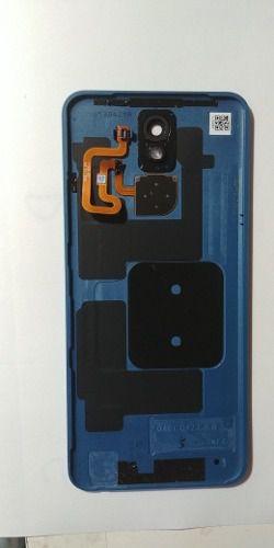 Tampa Traseira Lg K12 Plus Lm X420 Bmw original Com Lente Sensor Digital