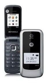 Celular Motorola De Flip Wx345 C/ Câmera Mp3 Dual Band ( Claro Tim Oi )