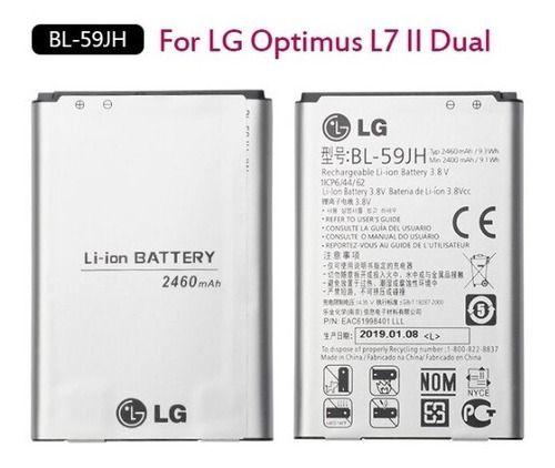 Bateria Lg Bl-59jh P655 P714 P716 L7 2 2460mah Original