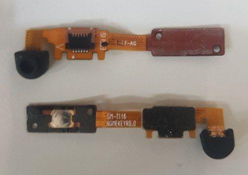 Flex do botão Home Microfone Samsung Tablet T110 T111 Original