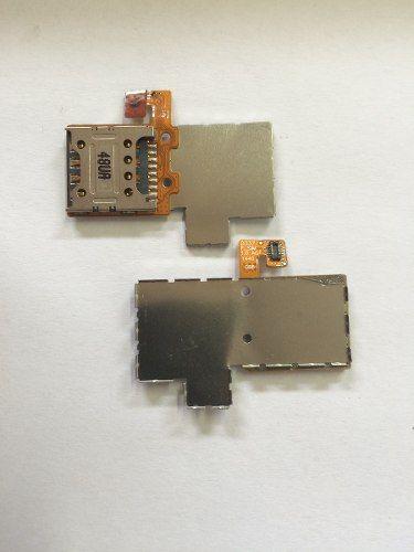 Flex Slot Chip 2 Celular Lg D337 L Prime Sim Card Blindagem
