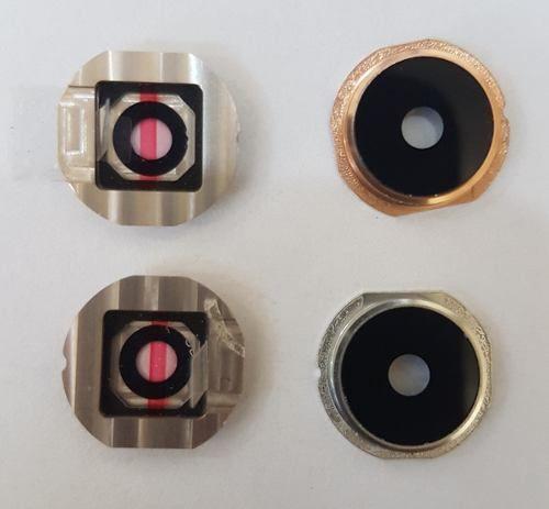 Lente Vidro Câmera Com Aro Celular Lg K10 2017 M250 M250ds Original