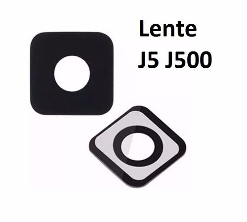 Vidro Lente Câmera Celular Samsung J5 / J500 Preta Original