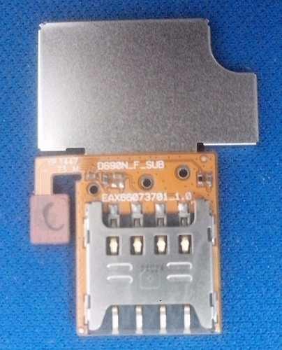Flex slot chip card Celular Lg G3 Stylus  D690 / D690n  Original