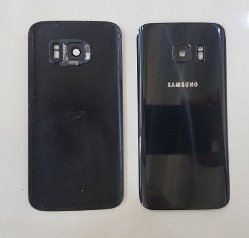 Tampa Traseira Vidro da Câmera Celular Samsung S7 Flat G930