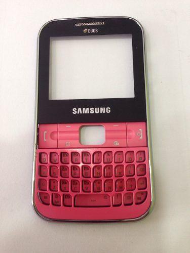 Visor Frontal com Teclado Samsung Gt C3222 Chat Original