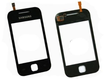 Vidro Touch Screen Samsung  Galaxy Y S5360 Preto