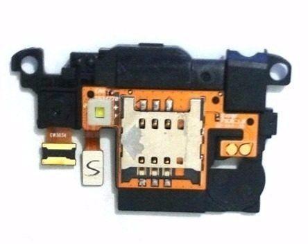 Flex Slot Conector do Chip e Campainha LG L4 E467 E470 E465 Original