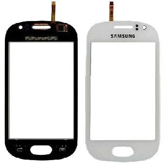 Vidro Lente Touch Screen Samsung S5283 Star Trios Branco