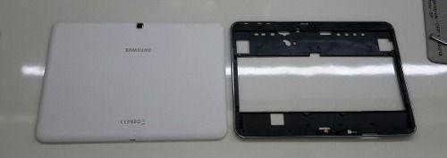 Tampa Traseira Aro com Chassi Moldura Tablet Samsung T530 Wifi