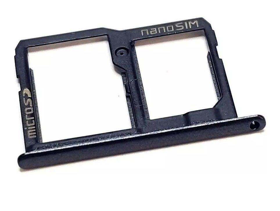 Bandeja Nano Chip 1 E Cartão Sd Lg K10 POWER M320 M320DS TV Original