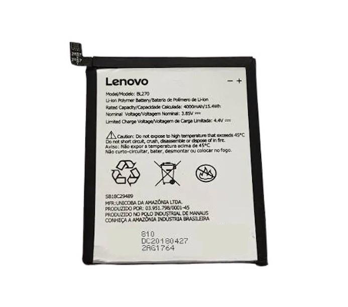 Bateria Bl270  Motorola Lenovo Vibe K6 Plus Moto G6 Play Xt1922 Original 1lcp56681