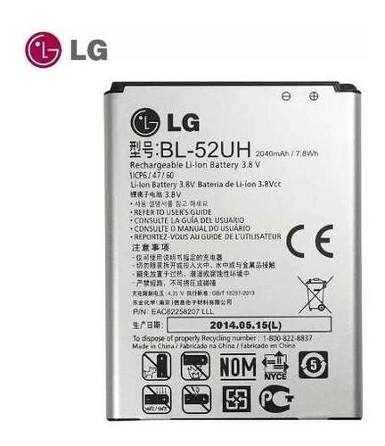 Bateria Bl 52uhb Original L70 D325 D285 D340 L65 H422 Volt