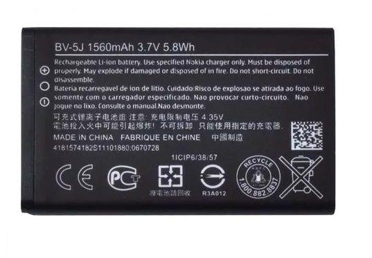 Bateria Bv-5J Microsoft Nokia Lumia N435 532 N532  1560MAH Original
